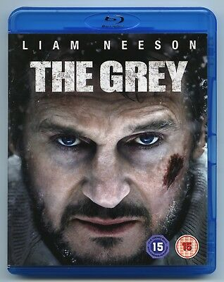 THE GREY - UK Blu-Ray - LIAM NEESON - Survival Thriller WOLF Wolves ARCTIC