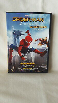 Spider-Man: Homecoming ( DVD Disc, 2017 )