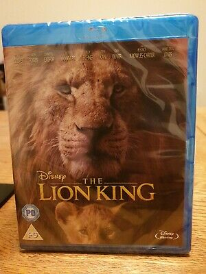 The Lion King [Blu-ray] RELEASED 18/11/2019 brand new sealed