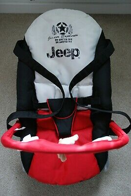 HAUCK Limted Edition Licensed JEEP Baby Bouncer Rocker Chair Toys