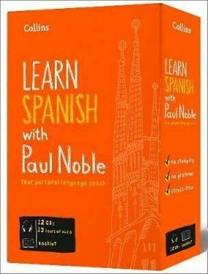NEW Collins Spanish with Paul Noble By Paul Noble Audio CD Free Shipping