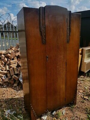 Wardrobe - Retro Vintage Single Door Light Weight Wardrobe
