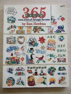 365 Designs~Sam Hawkins~Cross Stitch All Through The Year~ASN #3673