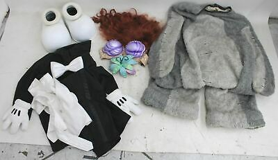 DISNEY Mickey Mouse Ariel & Eeyore Fancy Dress Costume Set Bundle JOB LOT