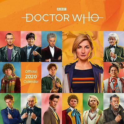 Doctor Who Classic Edition 2020 Official Square Wall Calendar