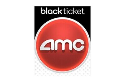 AMC Theatres Black Movie Ticket for 1 Admission  e-delivery