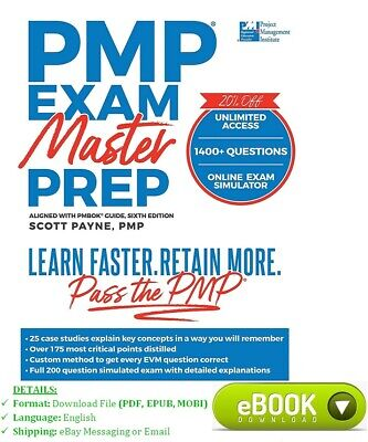 PMP Exam Master Prep: Learn Faster, Retain More, Pass the PMP Exam