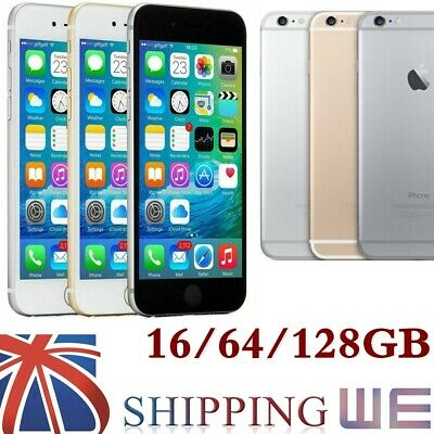 Apple iPhone 6 PLUS Factory Unlocked 16GB/64GB/128GB Space Grey Silver Gold