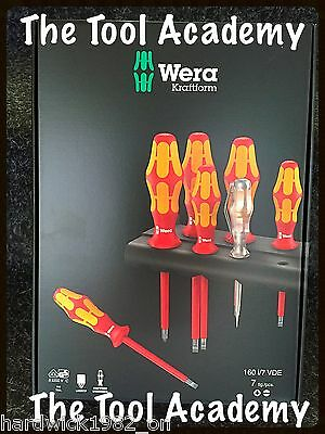 Wera Tools 10,000V VDE Electrical Screwdriver Set With Circuit Tester & Stand