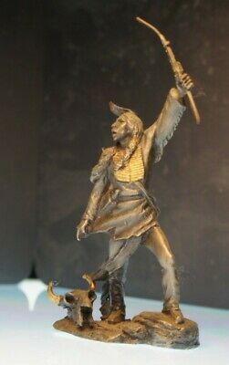 Franklin Mint Indianer Chief Quanah by Jim Ponter