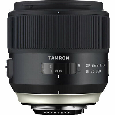 Second Stock Tamron SP 35mm F1.8 Di VC USD Lens in Canon Fit (F012)