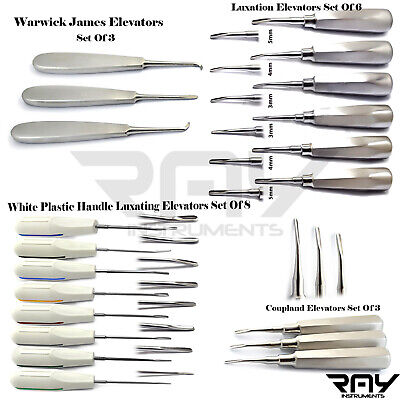 Root Canal Luxating Tooth Extraction Loosening Surgical Dental Elevators