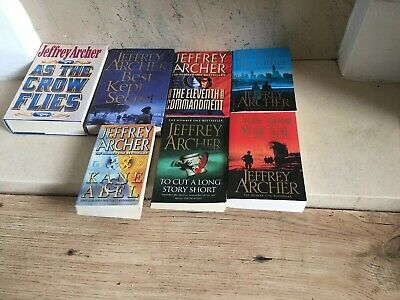 Joblot Jeffery Archer Books X7