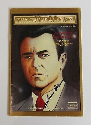Star Trek James Doohan Scooty Signed Autograph Book + COA Rare