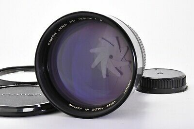 【Excellent+++++】 Canon NEW FD 135mm f/2 MF SLR Lens From JAPAN A225