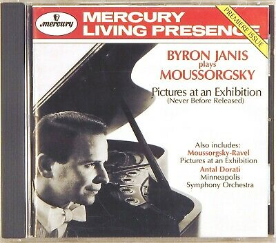 MERCURY LIVING PRESENCE Moussorgsky JANIS Picture Exhibition (CD 1994) 434 346-2