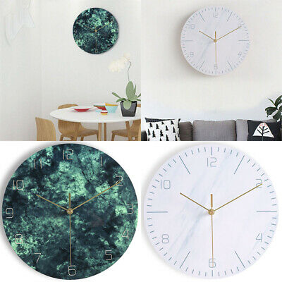 Digital No Noise Wall Clock Living Room Home Office Room Antique Hanging decor