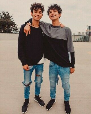 Lucas And Marcus Dobre Twins Youtube Vlogger 10x8 Photo Poster Print