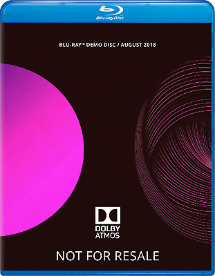 Dolby ATMOS Blu-Ray Demo Disc (August 2018)