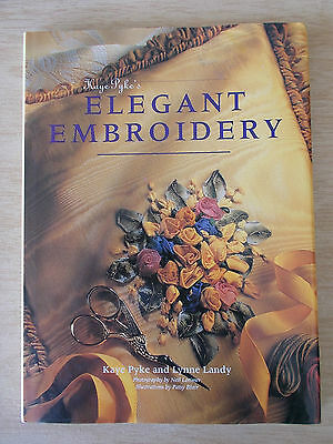 Kaye Pyke's Elegant Embroidery~Damask~Silk~Footstool~Baby~Cushions~Pictures~HBWC