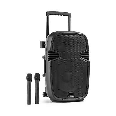 Sono portable Enceinte Bluetooth Mobile PA Batterie Trolley Micro VHF RCA ABS