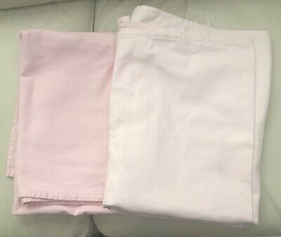 2x Baby Sheets Pink