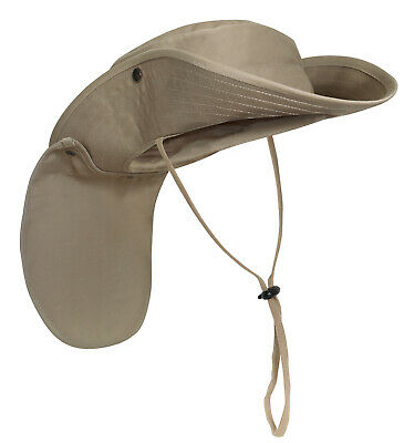 Khaki Boonie Hat Vented Fitted 100/% Cotton Ripstop Rothco 5815