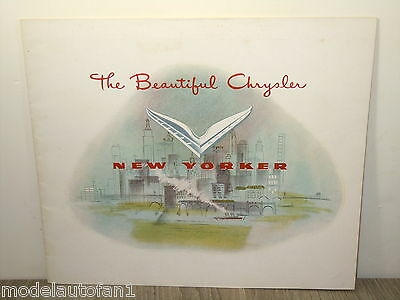 Folder/Brochure 1951 The Beautiful Chrysler New Yorker *4879