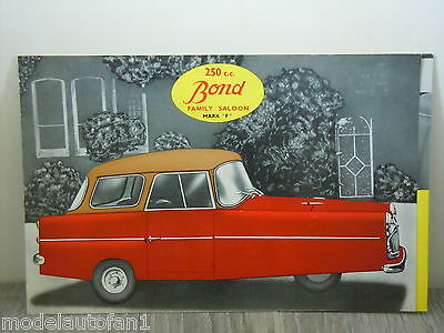 Folder/Brochure Bond Family Saloon Mark 'F' 250cc *4179