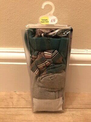Girls Age 5-6 Years Next Tights New With Tags