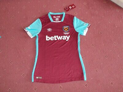 Womens West Ham United football shirt Size 8  New with tags