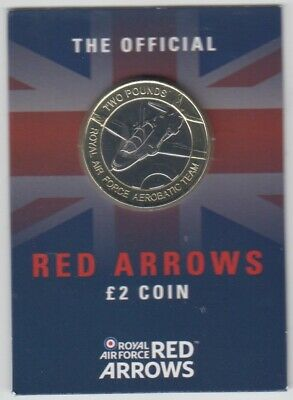 2019 Jersey - Red Arrows £2 Coin - superb UNC