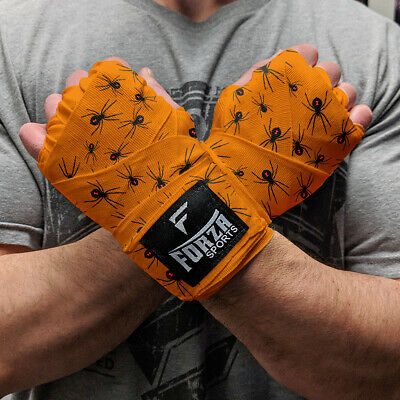 """Forza Sports 120/"""" Mexican Style Boxing and MMA Handwraps Purple"""