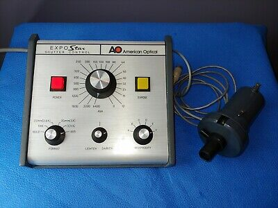 AO American Optical ExpoStar 1190 Shutter Control with Shutter & Camera Tube