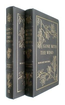 Gone With The Wind by Margaret Mitchell Easton Press Full Leather 2 Volumes
