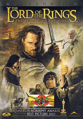 Drama - The Lord of the Rings - Return of the King (DVD, 2008) (Bilingual)