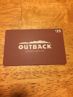 $25 Outback Steakhouse  Bonefish Grill Carrabba's Fleming's Gift Card
