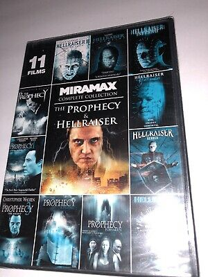 The Prophecy & Hellraiser Miramax Complete Collection DVD 11 Film Set NEW Sealed