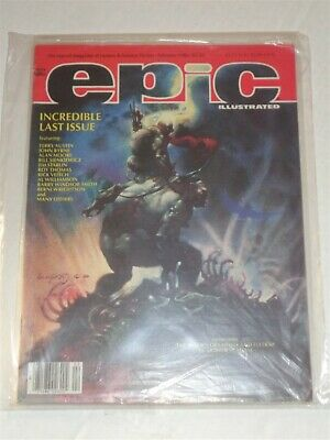 Epic Illustrated #34 February 1986 Marvel Us Magazine