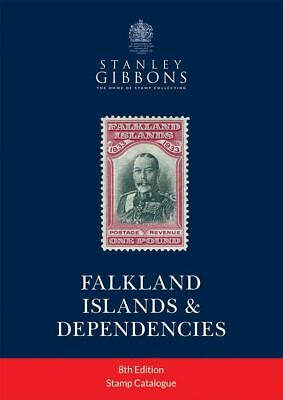 STANLEY GIBBONS COMMONWEALTH STAMP CATALOGUE - FALKLAND ISLANDS 8th EDITION