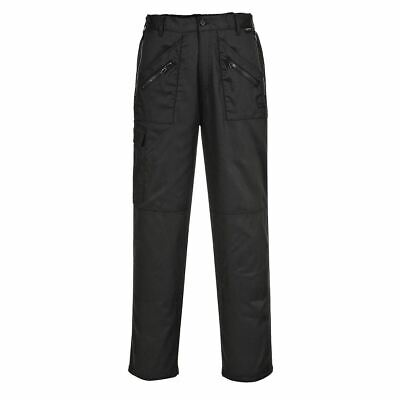 Portwest Lined Action Trousers Pants Action Workwear Pockets Comfort