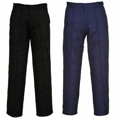 Portwest Mayo Trousers 2 Pants General Workwear Comfort Hook and Bar Closure
