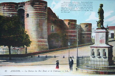 Postcard Antique - CPA Angers - 49 - Statue of / the King Rene - 15