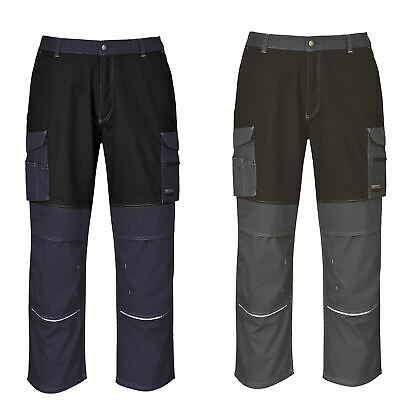 Portwest Granite Trousers Pants Workwear Pockets Durability Secure Fit