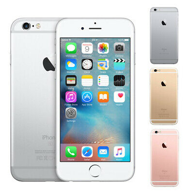 Apple iPhone 6S Plus 16/64/128GB Gery Slivery Gold Smartphone Factory Unlocked