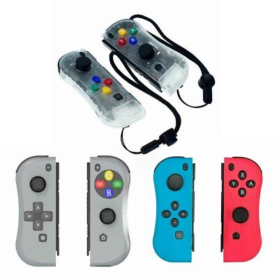 Left &Right Joy-Con Game Controllers Gamepad Joypad for Nintendo Switch Console.