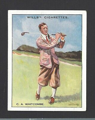 Wills - Famous Golfers - #25 C A Whitcombe