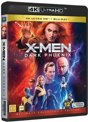 X-Men Dark Phoenix 4K Uhd+Blu-Ray New Dolby Atmos 7.1 Ultimate Collector's Ed.