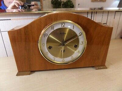Lovely Bentima Westminster Chime Mantle Clock In Great Running Order, Chimes ???
