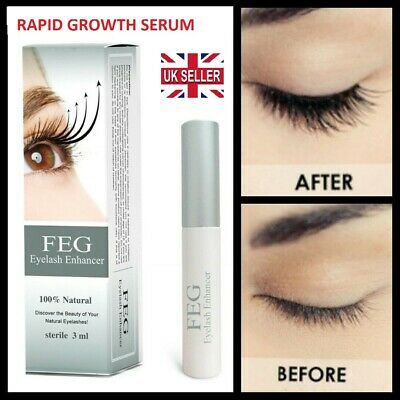 PHOERA Eyelash Rapid Growth Serum Lengthen Thickening Enhancer  EyeBrow UK